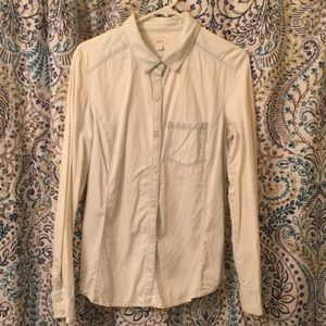 Caslon 100% Cotton Denim Shirt